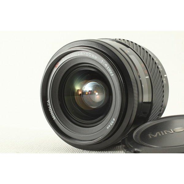 MINOLTA ミノルタ AF 24-50mm F4 旧◆人気ズームレンズ 極上品ランク