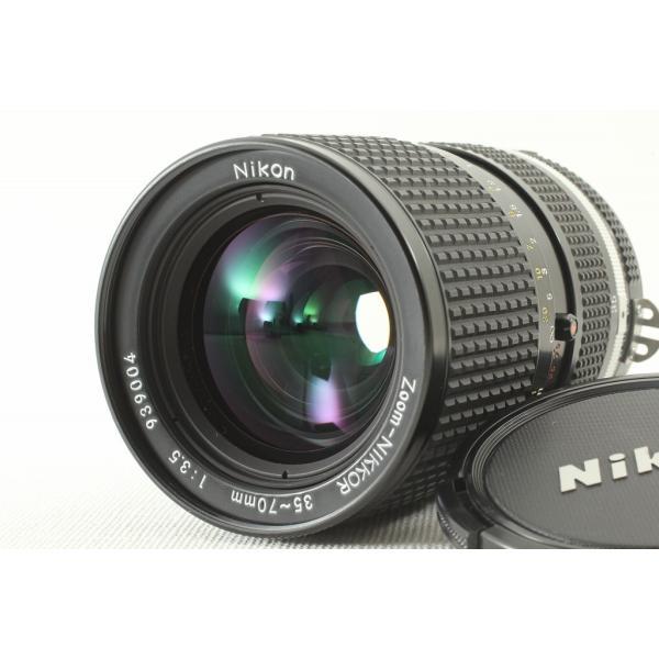 NIKONニコン Ai-S Zoom-NIKKOR 35-70mm F3.5◆ズームレンズ 外観極上品ランク