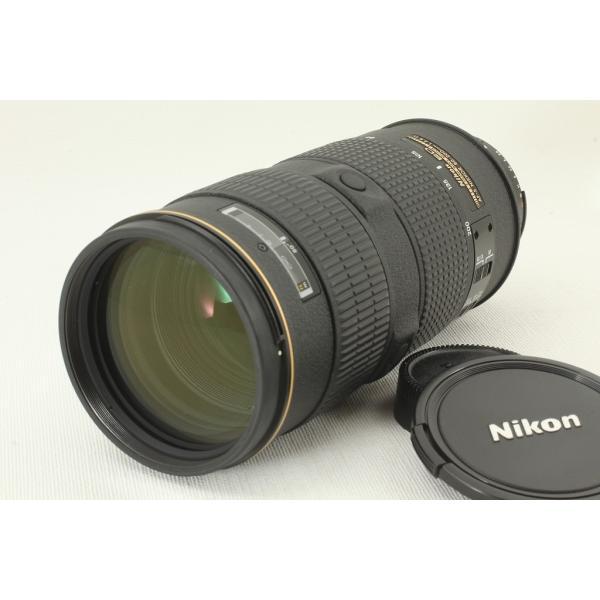 Nikonニコン AF-S NIKKOR 80-200mm F2.8 D ED IF ブラック 外観極上品ランク