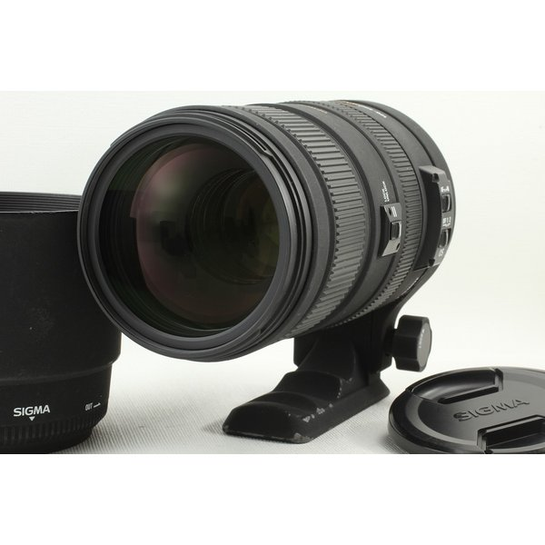 SIGMA APO 120-400mm F4.5-5.6 DG OS HSM Nikonニコン◆超望遠ズーム 美品ランク