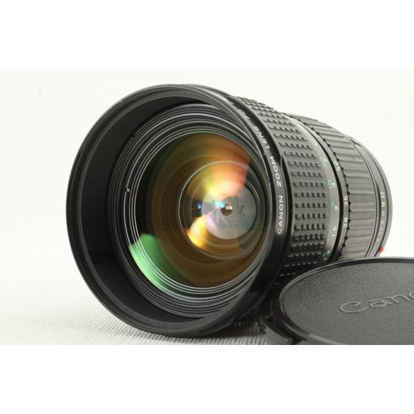Canonキヤノン New FD 28-85mm F4◆広角ズームレンズ 極上品ランク