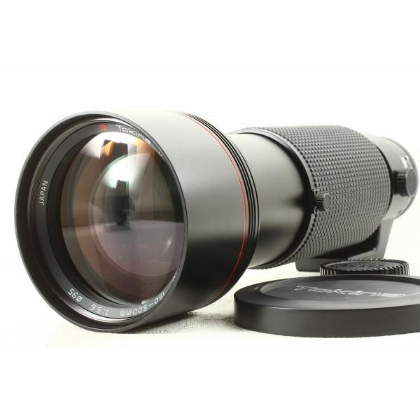 Tokinaトキナー AT-X SD 150-500mm F5.6 Canon キヤノン FD◆ケース 外観美品ランク