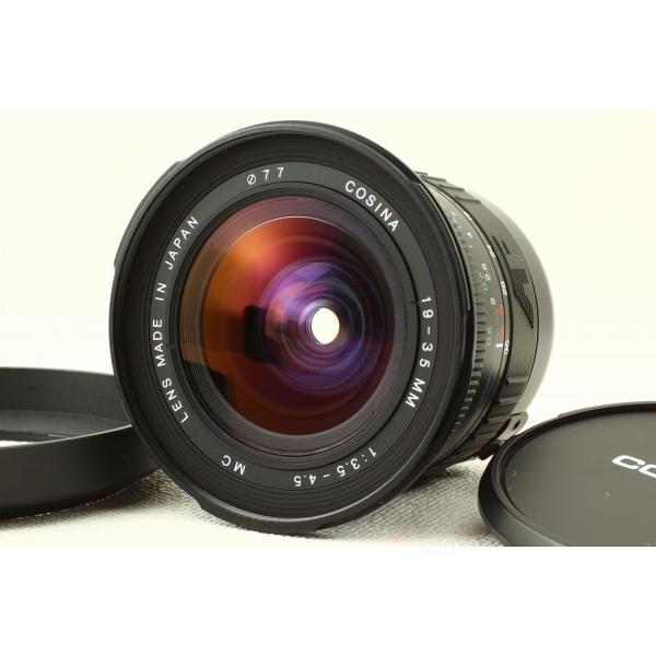 Cosinaコシナ AF 19-35mm F3.5-4.5 MC Canon キヤノン 極上品ランク