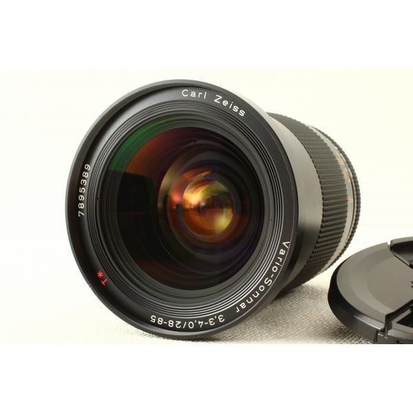 CONTAXコンタックス Vario-Sonnar 28-85mm F3.3-4.0 MMJ 外観美品ランク