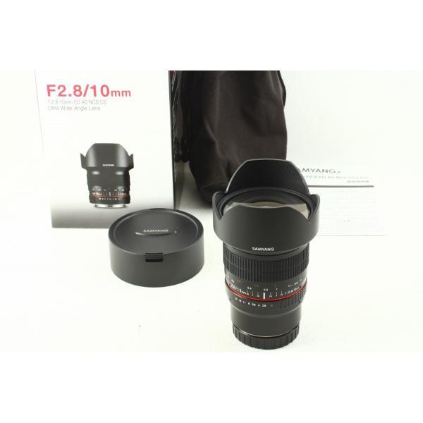 SAMYANG 10mm F2.8 ED AS NCS CS Canon キヤノン EOS用 元箱 未使用品ランク