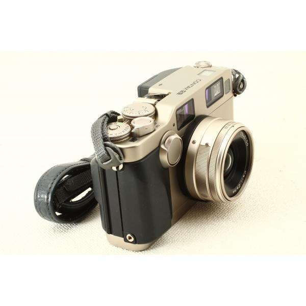 CONTAX コンタックス G2 ボディ + Biogon 28mm F2.8 極上品ランク|crewact|05