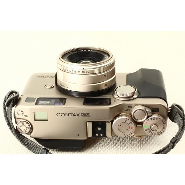 CONTAX コンタックス G2 ボディ + Biogon 28mm F2.8 極上品ランク|crewact|06