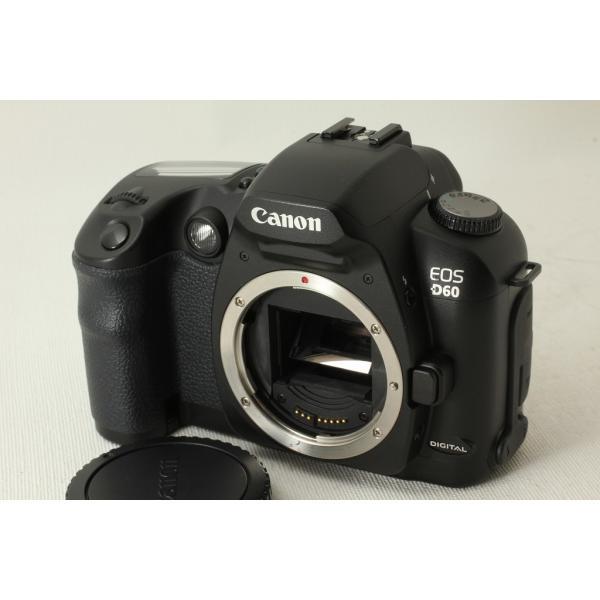 Canon キヤノン EOS D60 ボディ◆デジタル一眼レフ,630万画素 極上品ランク