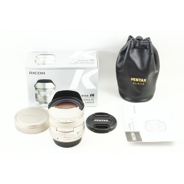 PENTAX SMC FA 31mm F1.8 AL Limited シルバー◆広角単焦点レンズ 極上品ランク