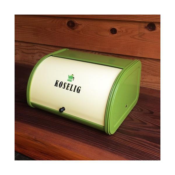 AXCIS TE458 Roll Top Bread Bin アクシス ローラートップブレッド缶 ブレッドケース カントリー スチール KITCHEN キッチン収納 パンケース 収納 POT
