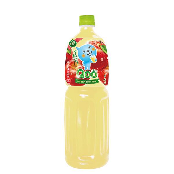 送料無料 ミニッツメイドQoo クー りんご 1.5LPET ミニッツメイド 果汁 メーカー直送 1ケース6本入り ラッピング不可