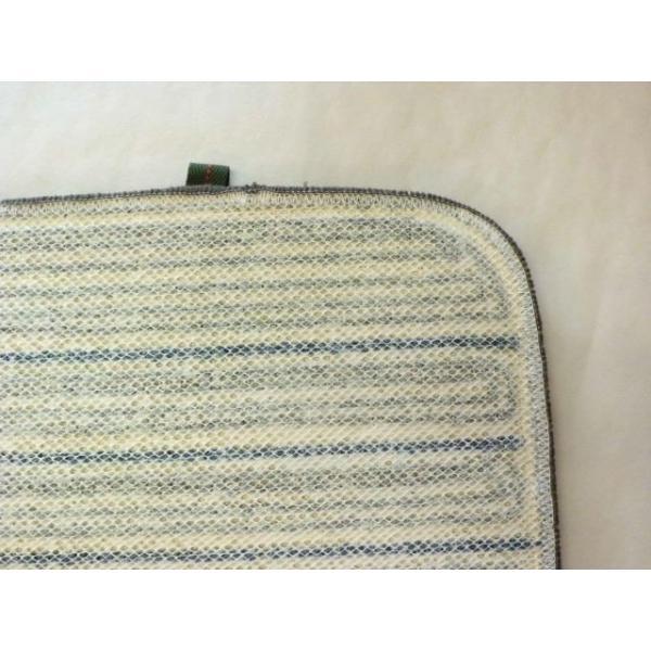 洗えるチェアパッド角(グレー) 座布団|crococko|02