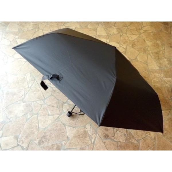 オールウェザー/プレーンカラー折りたたみ晴雨兼用傘(ブラック) All Wether Light|crococko