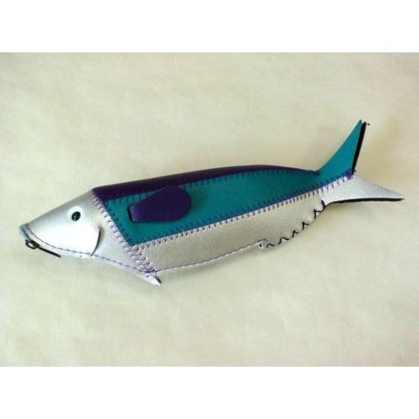 フィッシュケース Fish Case (Silver&Blue) crococko