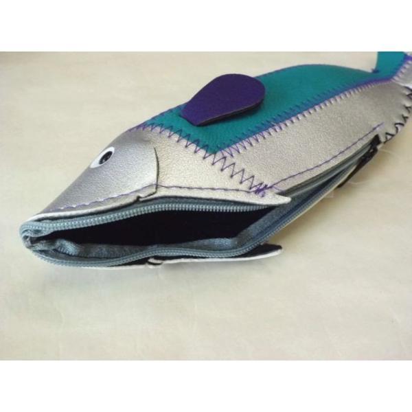 フィッシュケース Fish Case (Silver&Blue) crococko 02