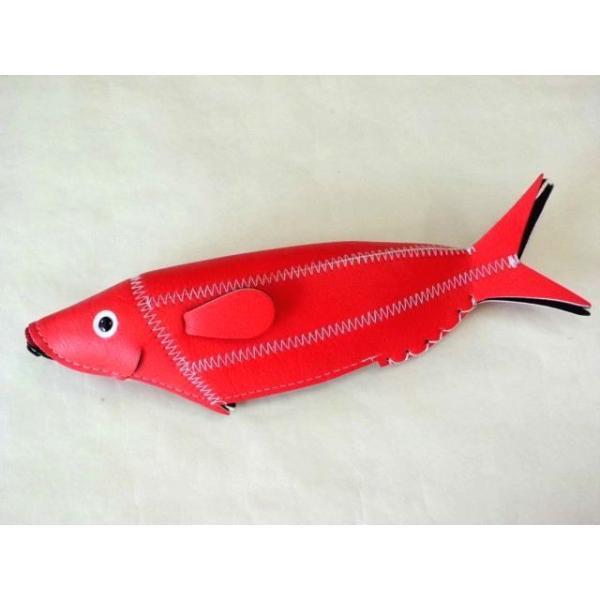 フィッシュケース Fish Case (Red)|crococko