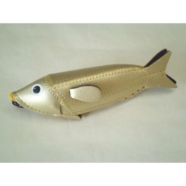ミニフィッシュケース Mini Fish Case (Gold)|crococko