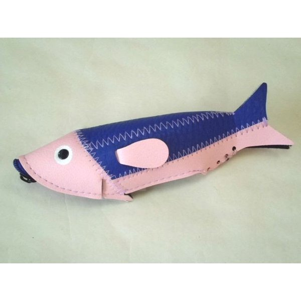 ミニフィッシュケース Mini Fish Case (Pink&Purple)|crococko