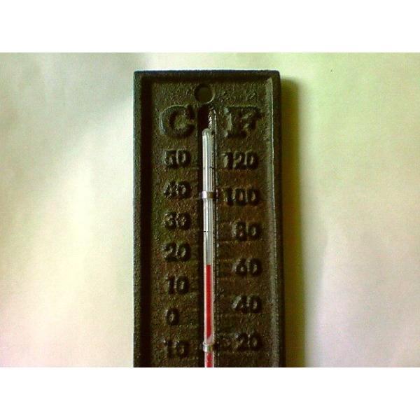 アンティーク風温度計|crococko|02