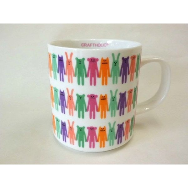 CRAFTHOLICマグカップ(MULTI)|crococko