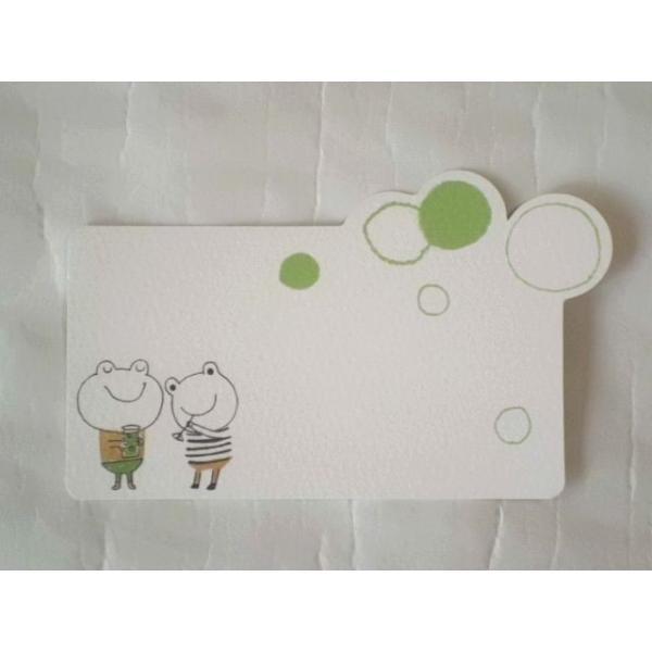 ShinziKatoh ミニグリーティングカード(Facile Frog)|crococko|03