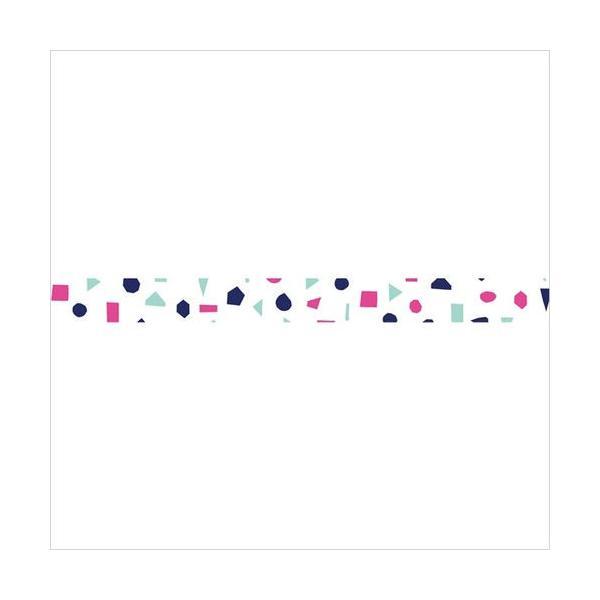 マスキングテープ maste|北欧パターン カラーピース(ネイビー) MARK'S マステ|crococko|02