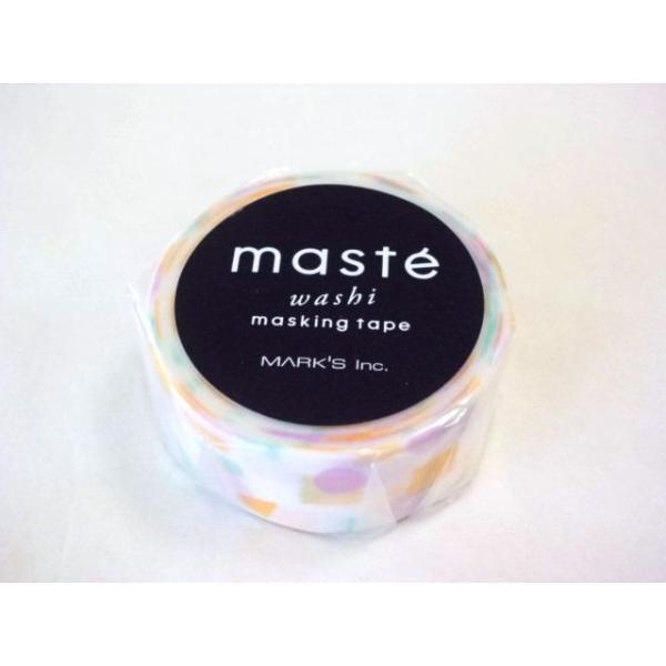 マスキングテープ maste|北欧パターン カラーピース(パープル) MARK'S マステ|crococko