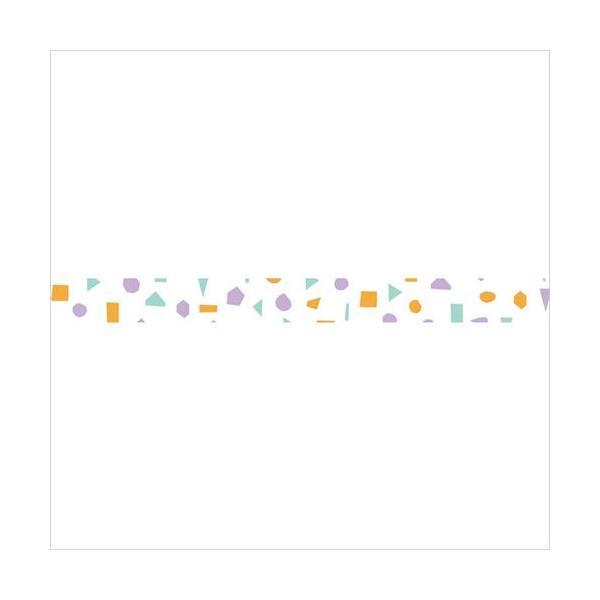 マスキングテープ maste|北欧パターン カラーピース(パープル) MARK'S マステ|crococko|02