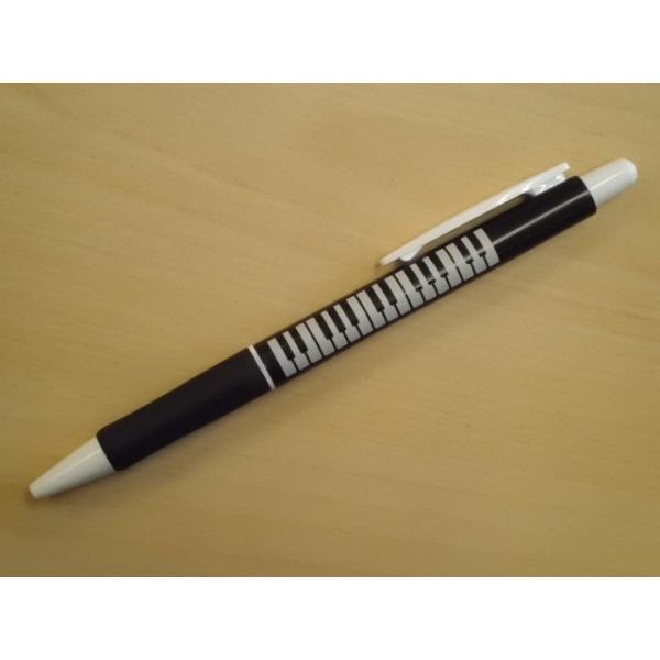 ラバーグリップボールペン(鍵盤)|crococko