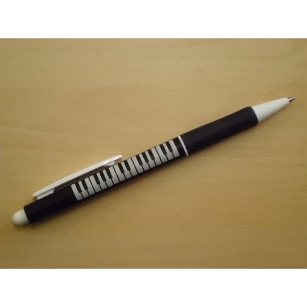 ラバーグリップボールペン(鍵盤)|crococko|02