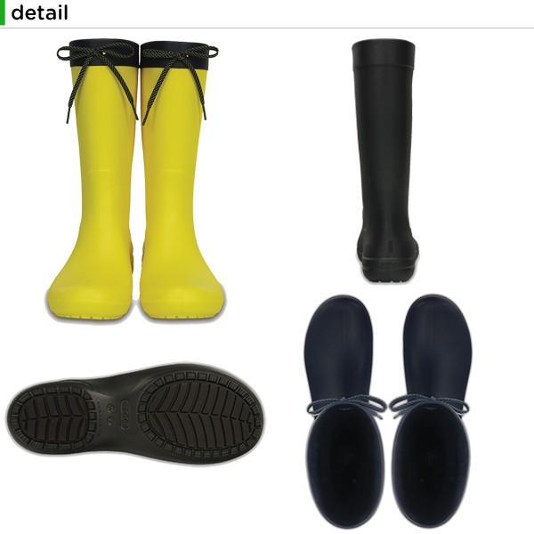 クロックス crocs クロックス フリーセイル レイン ブーツ ウィメン crocs freesail rain boot w レディース ブーツ[C/C]