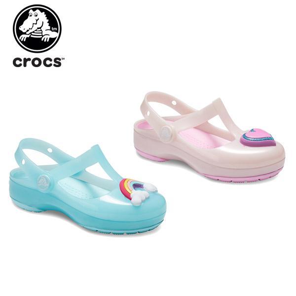 クロックス crocs クロックス イザベラ チャーム クロッグ キッズ crocs isabella charm clog kids キッズ サンダル シューズ 子供用[C/A]