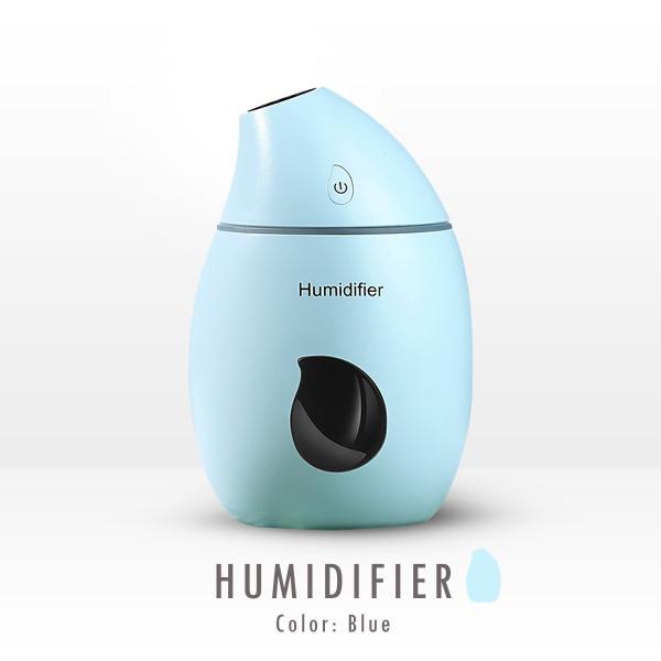 加湿器 USB 卓上 持ち運び 小型 オフィス 超静音 8時間 160ml 常夜灯 ミニ加湿器 cross-online 11