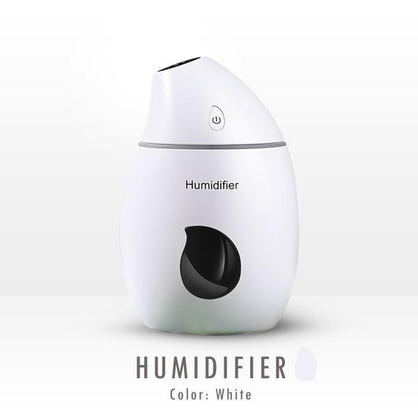加湿器 USB 卓上 持ち運び 小型 オフィス 超静音 8時間 160ml 常夜灯 ミニ加湿器 cross-online 13