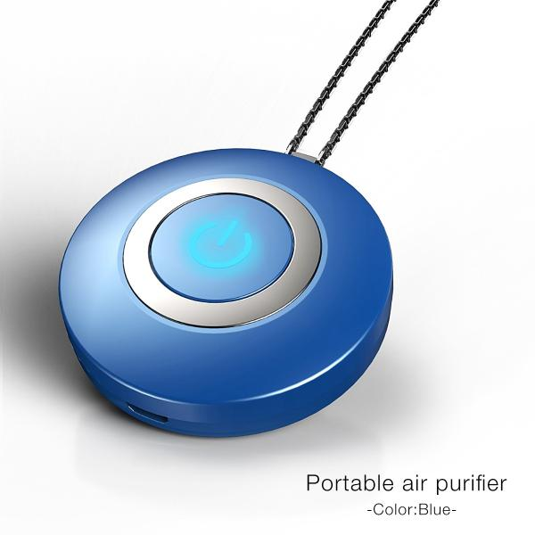空気清浄機 小型 ポータブル 携帯型 イオン発生器 ミニ 首かけ ネックレス マイナスイオン cross-online 13