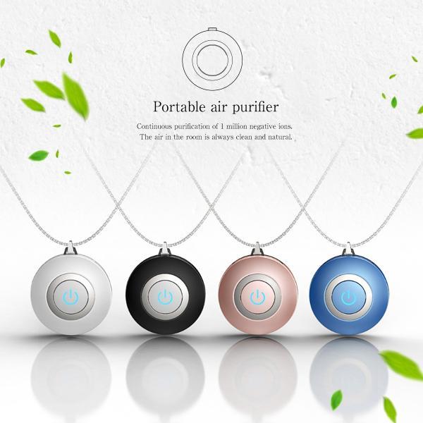 空気清浄機 小型 ポータブル 携帯型 イオン発生器 ミニ 首かけ ネックレス マイナスイオン cross-online 09