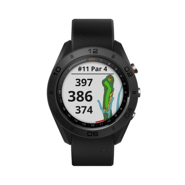 ガーミン GARMIN 正規品 Approach S60 Black ゴルフナビ 腕時計 アプローチ エス60 ブラック ゴルフウォッチ スマートウォッチ 010-01702-20|cross9|02