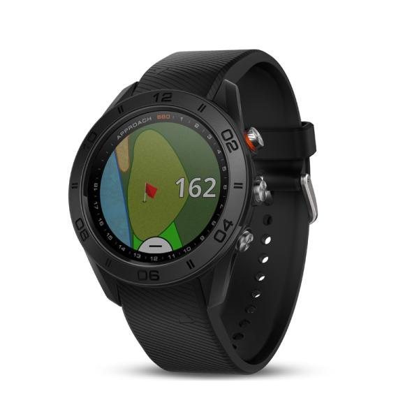 ガーミン GARMIN 正規品 Approach S60 Black ゴルフナビ 腕時計 アプローチ エス60 ブラック ゴルフウォッチ スマートウォッチ 010-01702-20|cross9|03