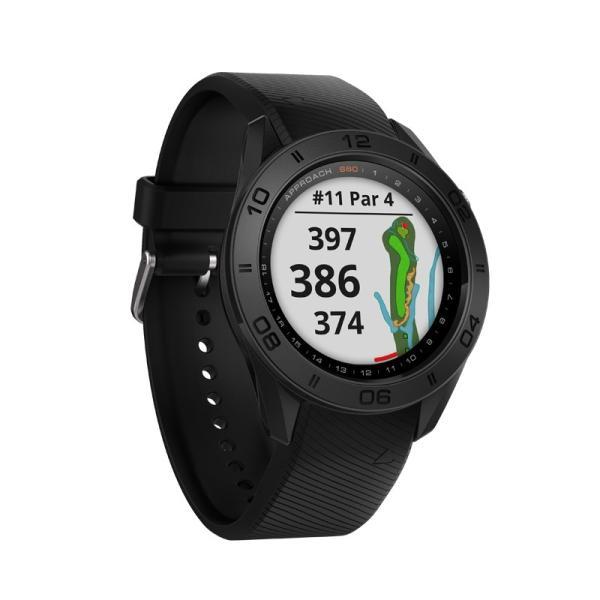 ガーミン GARMIN 正規品 Approach S60 Black ゴルフナビ 腕時計 アプローチ エス60 ブラック ゴルフウォッチ スマートウォッチ 010-01702-20|cross9|04
