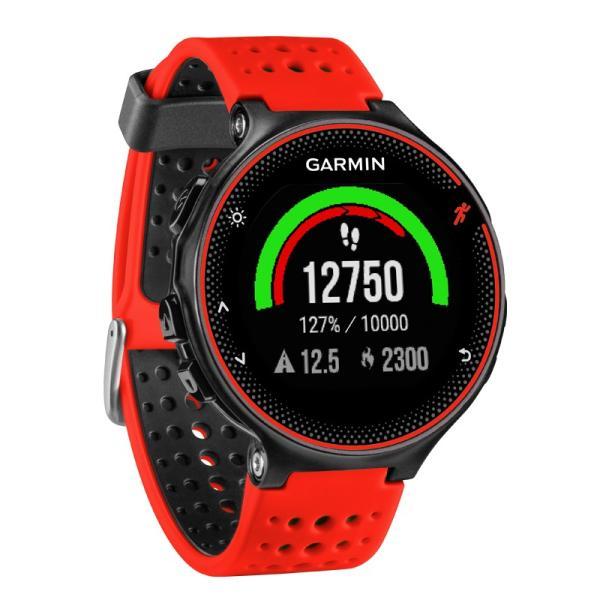 ガーミン GARMIN 正規品 ForeAthlete235J Black Red スマートウォッチ 腕時計 フォーアスリート235J ランニングウォッチ ブラックレッド 010-03717-6H|cross9|02