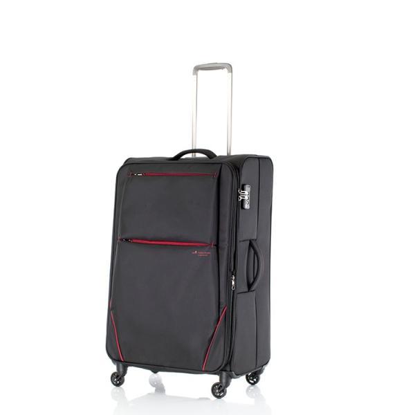 ヒデオワカマツ HIDEO WAKAMATSU フライII スーツケース キャリーケース 旅行カバン 85-76021 ブラック 【代引き不可】 【直送商品】