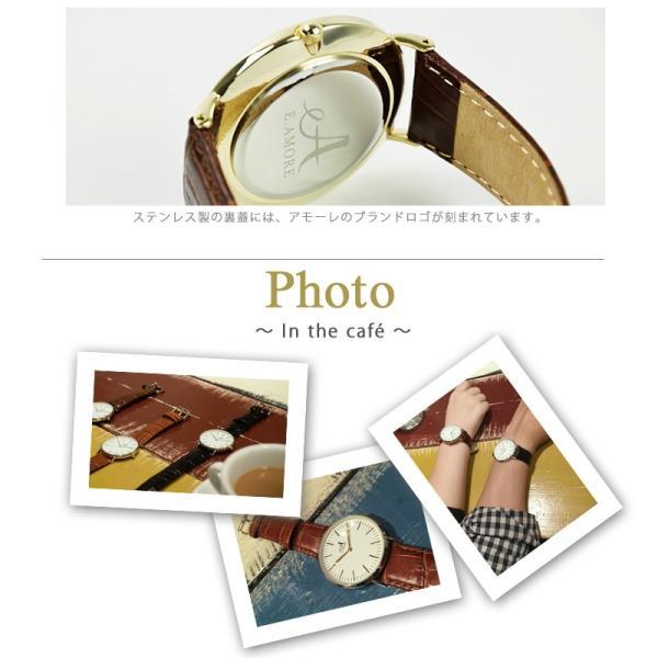 即納 【ラッピング付き】 腕時計 クロス限定 メンズ レディース ユニセックス ウォッチ ゴールド アモーレ 選べる3カラー FAL50509|cross9|05