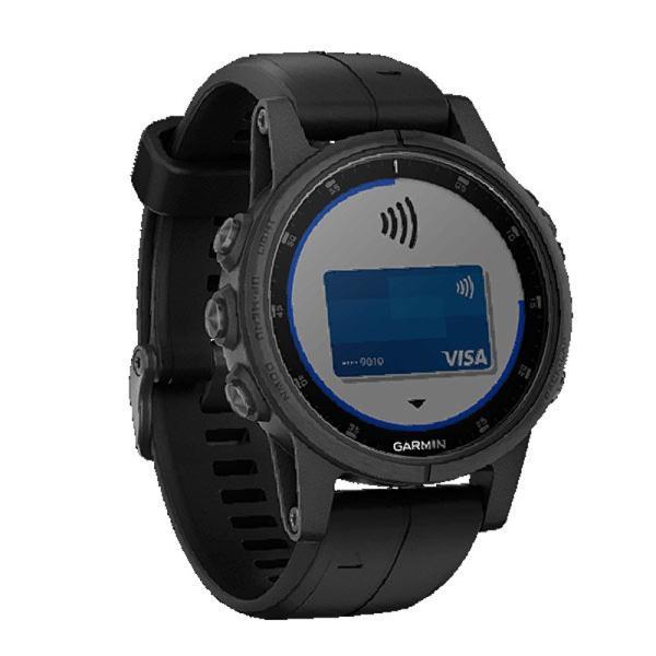 ガーミン GARMIN fenix 5s Plus Sapphire Black スマートウォッチ 腕時計 正規品 010-01987-77 ポイント消化 cross9 02