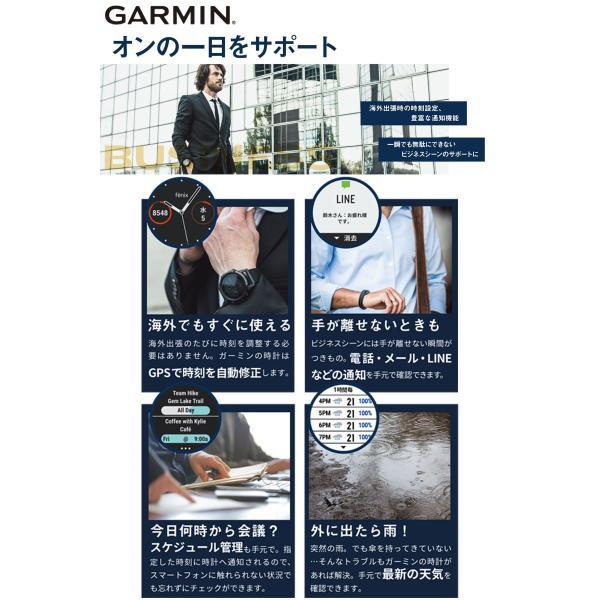 ガーミン GARMIN fenix 5s Plus Sapphire Black スマートウォッチ 腕時計 正規品 010-01987-77 ポイント消化 cross9 03