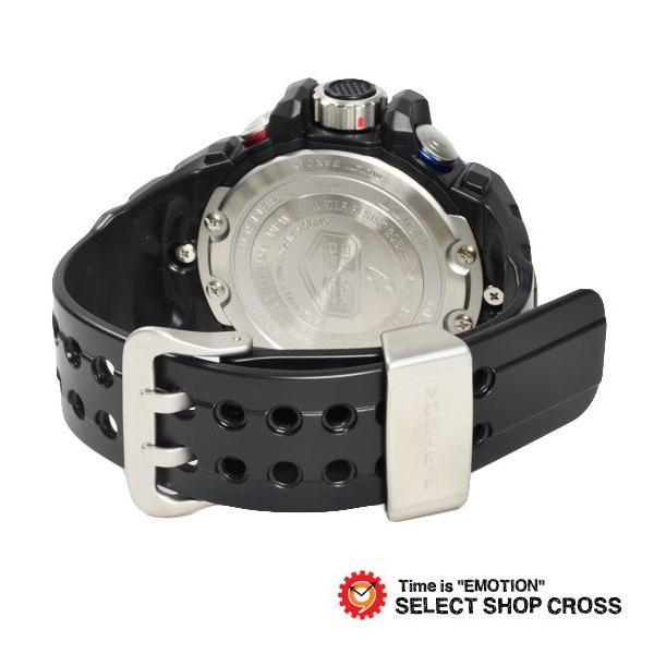 【3年保証】 カシオ G-SHOCK Gショック GULFMASTER ガルフマスター メンズ 電波 ソーラー 腕時計 アナデジ GWN-1000B-1BDR ブラック 海外モデル GWN-1000B-1B cross9 03