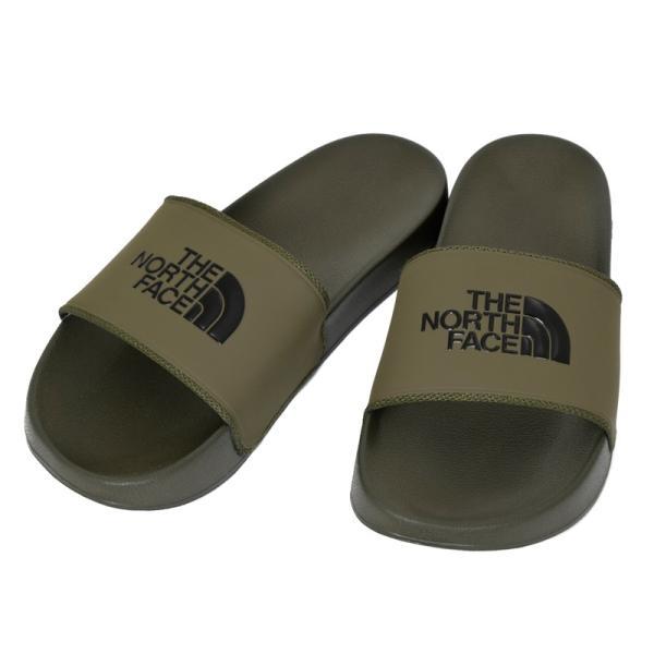 THE NORTH FACE ザ ノースフェイス Base Camp Slide II シャワーサンダル スポーツサンダル メンズ レディース M(#9/27cm) カーキ NF 5UA|cross9