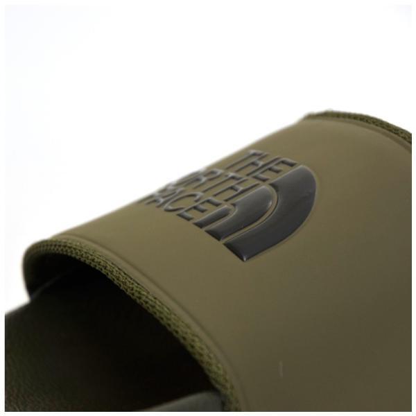 THE NORTH FACE ザ ノースフェイス Base Camp Slide II シャワーサンダル スポーツサンダル メンズ レディース M(#9/27cm) カーキ NF 5UA|cross9|03