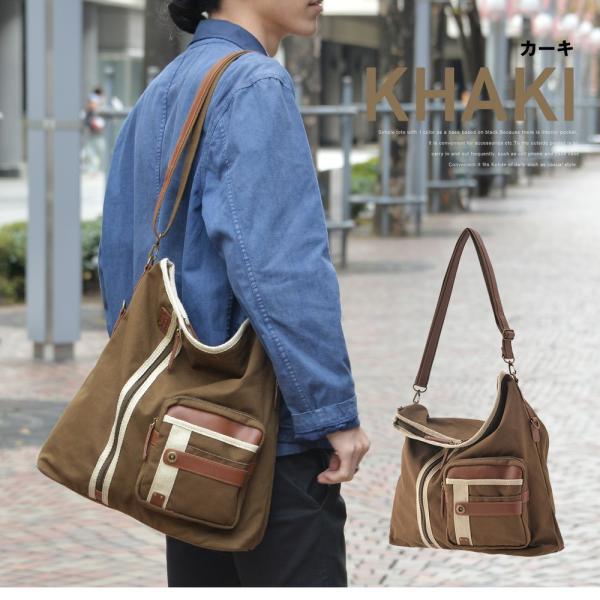 メンズ ショルダーバッグ 2Wayバッグ メッセンジャーバッグ バッグ 口折れ 斜めがけ バック DEVICE かばん 鞄 帆布バッグ A4 ブランド 斜め掛け|crosscharm|06