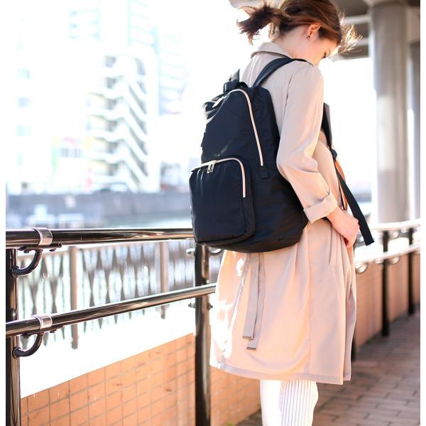 リュックサック リュック マザーズリュック ブランド レディース ナイロン  おしゃれ 通勤 通学 軽量 女子 かばん バッグ 30代 40代|crosscharm|09