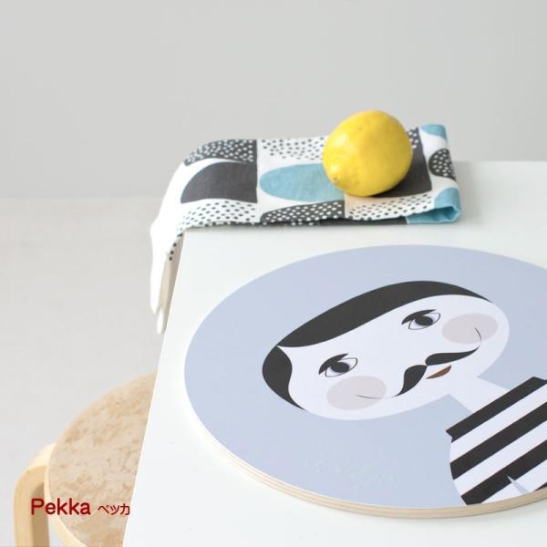 カッティングボード 木製 キッチン テーブル インテリア 北欧 Nama :ラウンド crossed-lines 05
